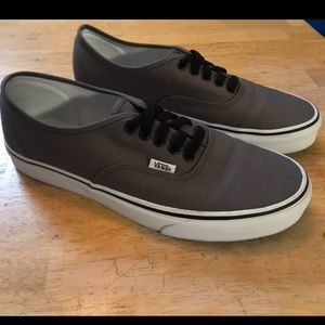 Vans Era Shoes Sneakers Mens Size 10 Gray